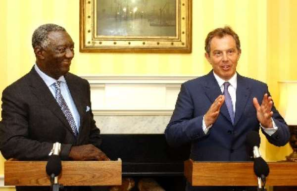 Britain to pay Ghana's debt