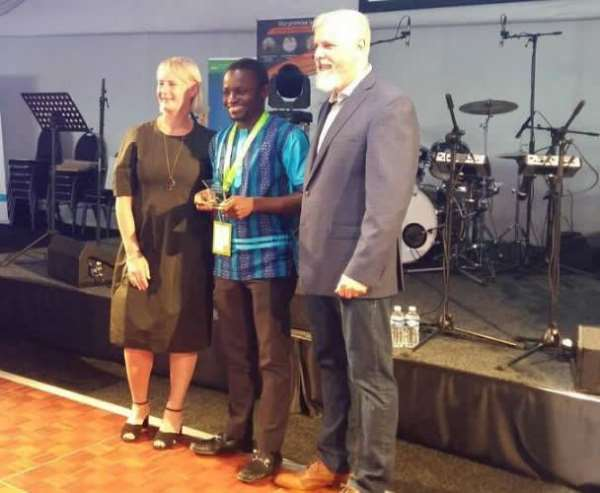 Joy News' Joseph Opoku Gakpo Wins IFAJ Award