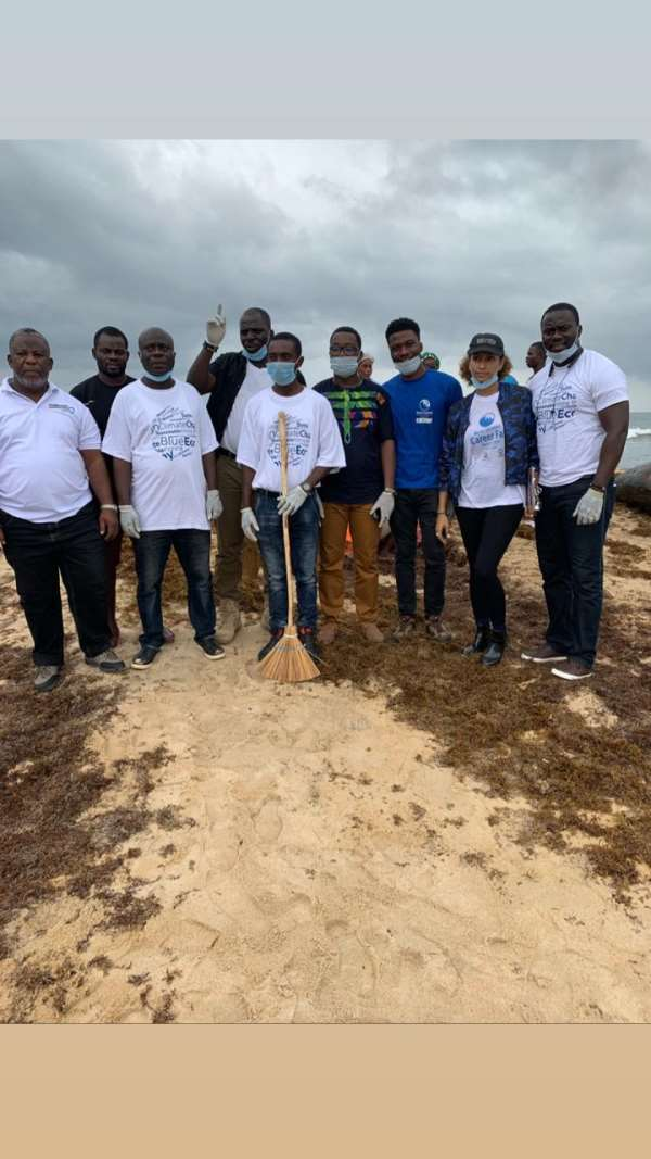 'Call To Action': Blue Oceans Begin With Beach Clean-Up