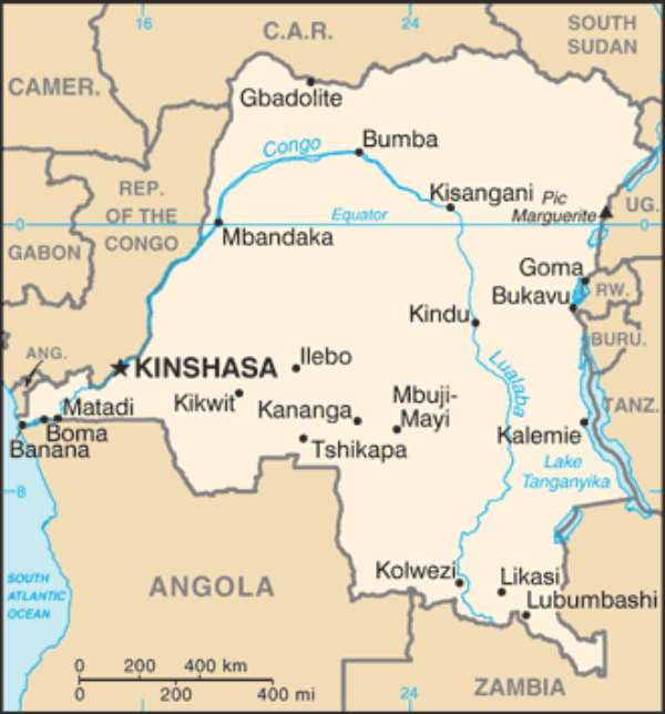 INFRASTRUCTURE: Africa's Primary Need–Case Study of Eastern Congo