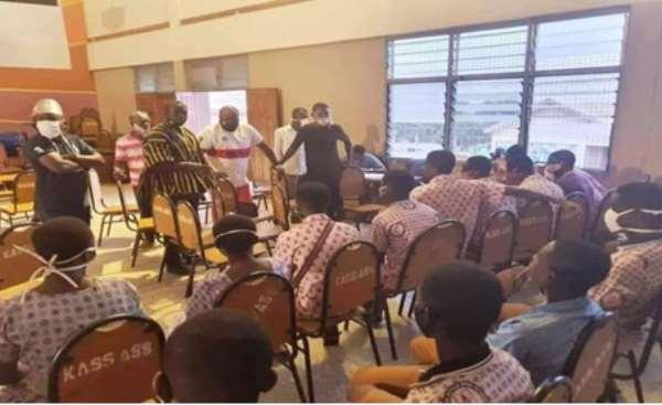 NPP Youth Organizer Nana B Angers Health Students After Breaching Social Distancing