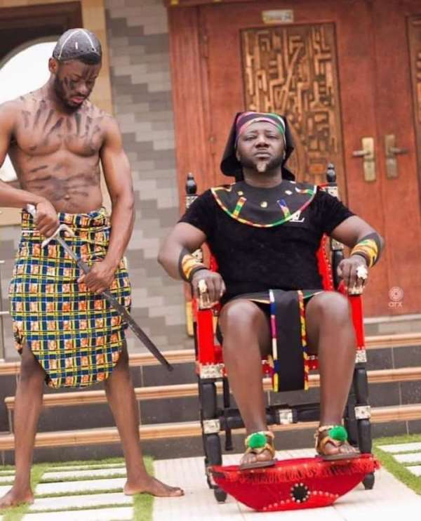 My recent pictures tell the African chieftaincy story-Osebo
