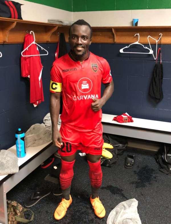 Solomon Asante Nominated For MVP In American USL
