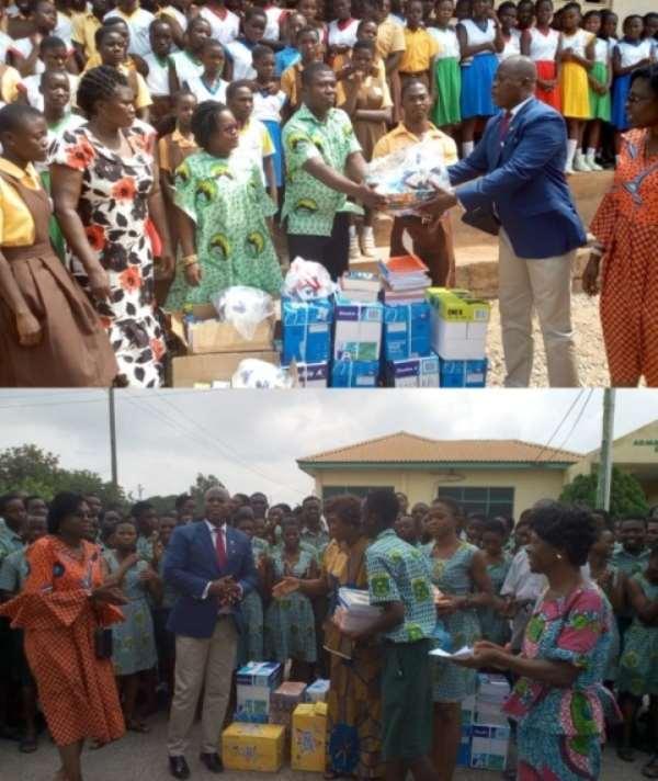Schools In Anyaa Sowuotum Constituency Receive Support
