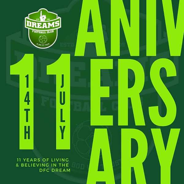 Clubs Join Dreams FC To Celebrate 11Th Anniversary