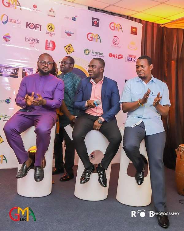 Top Ghanaian personalities to attend Ghana Music Awards UK launch on July 23