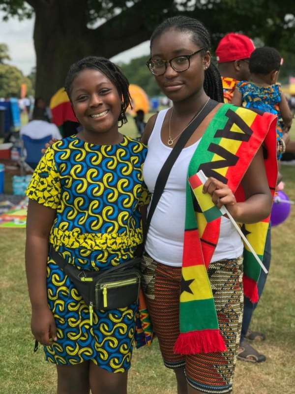 Papa Owusu Ankomah Graces Ghana Party In The Park UK