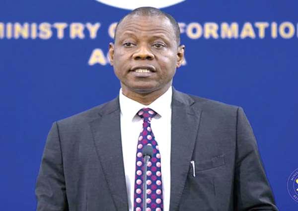 Director-General of GHS, Patrick Kuma-Aboagye