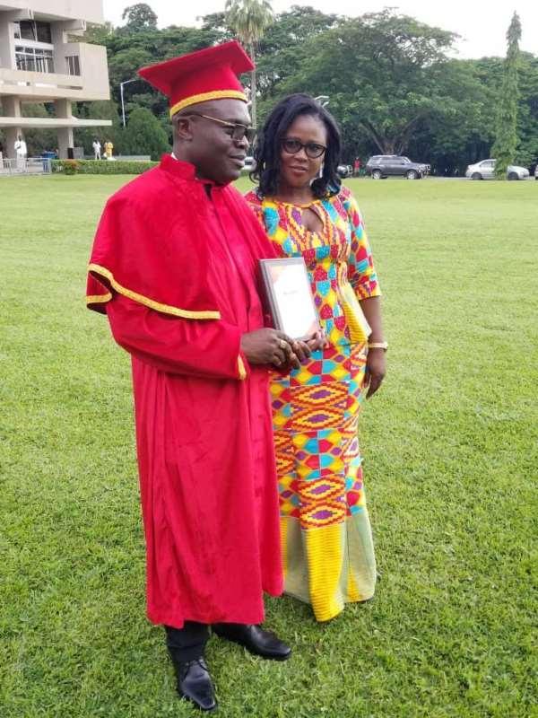 K. Badu And His Wife