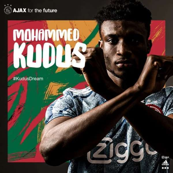 Ajax New Signing Mohammed Kudus Wants To Improve At Club