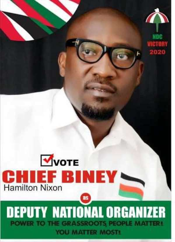 Chief Biney Eyes NDC Deputy National Organiser Post