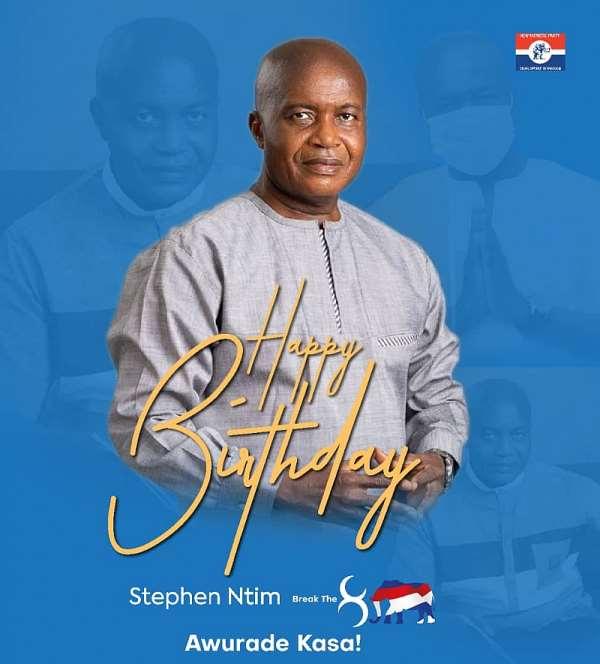 You're naturally born leader — Group eulogies Stephen Ayesu Ntim on his birthday