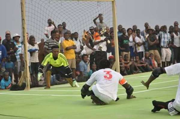 2nd MTN Skate Soccer Take Place At Accra Sports Stadium