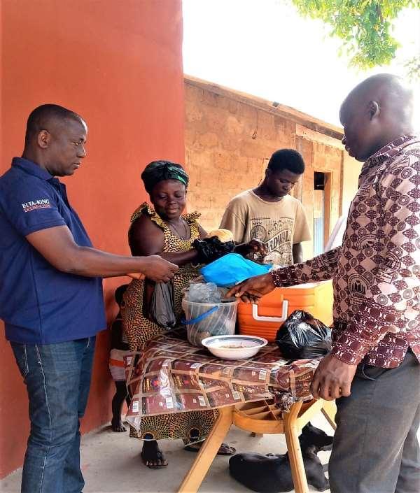 Mafi-Kumase Diary: The Story Of How Amokanane from Mafi Amegakofe combats hunger with her big 'Kokoe' size