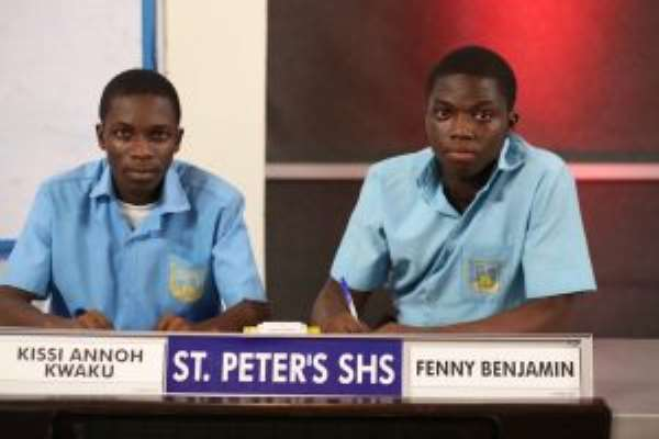 St.Peter's Joins ADISCO In Final Of 2018 NSMQ After Comeback Victory