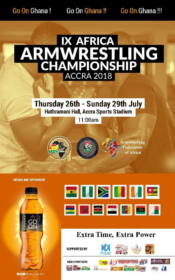 Go On African Arm wrestling Challenge Rocks Ghana