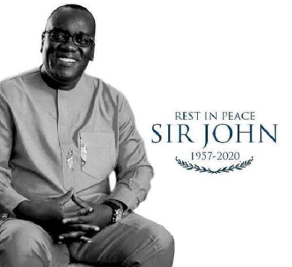 The late Kwadwo Owusu Afriyie aka Sir John