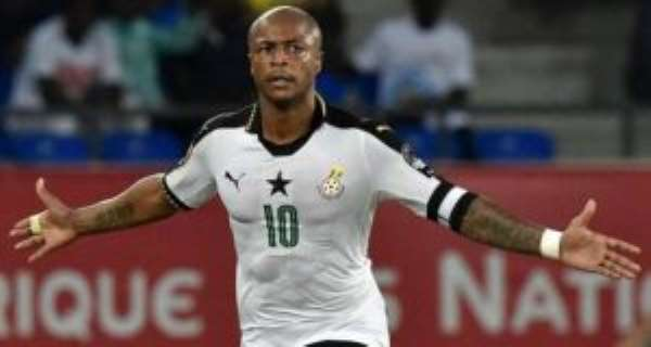 Andre Ayew Agrees Loan Move To Fernerbahce - Reports