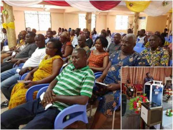 Town Hall Meeting Held At Tema West Municipal Assembly