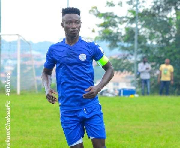 Berekum Chelsea set price tag of $50,000 on in-demand attacker Stephen Amankona