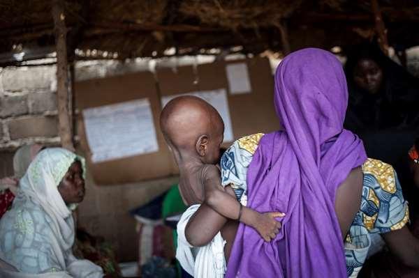 Nigeria's northern region has a disproportionate number of malnourished children. - Source: TEFAN HEUNIS/AFP via Getty Images