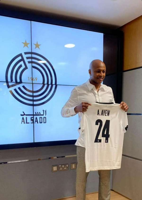 OFFICIAL: Qatari giants Al Sadd SC completes signing of Ghana captain Andre Ayew