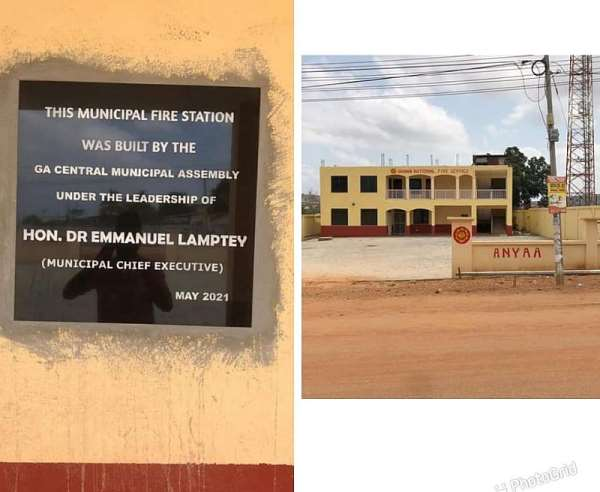 Remove that plague and credit Mahama for the new Ga Central Fire Station —  NDC Communicator fumes