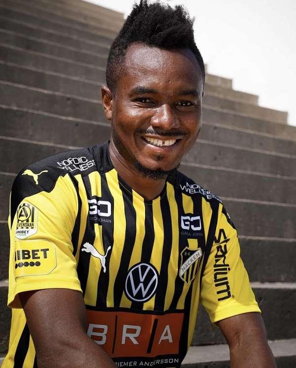 Nasiru Mohammed: It feels great to re-join BK Hacken