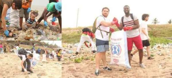 Plastic Punch Sensitise Ningo Prampram Residents On Plastic Waste