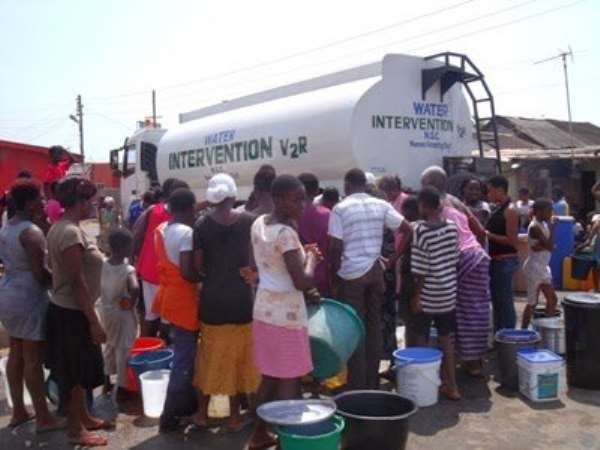 GWCL Deploys 30 Tankers To Adabraka Over Water Shortage
