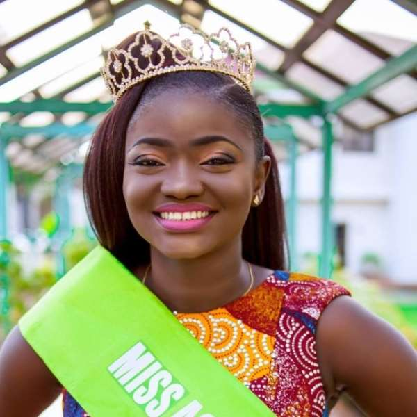 Akosua was crowned Miss Agriculture last year