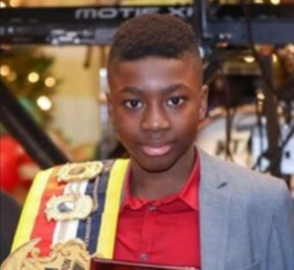 13-Year-Old Boxer Awinongya Rescues Paralyzed Woman
