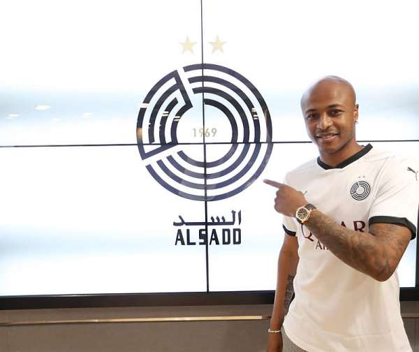 Al Sadd: Ghana captain Andre Ayew pledges to win trophies with Asian club