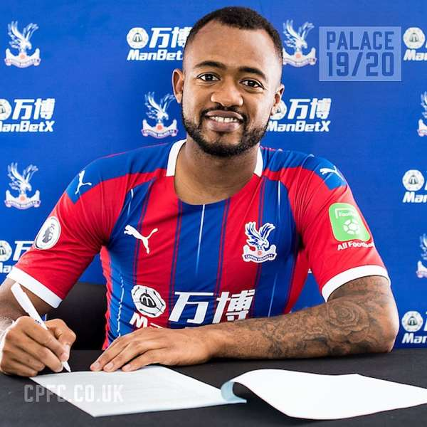 JUST IN: Crystal Palace Signs Ghana's Jordan Ayew On A 3-year Deal