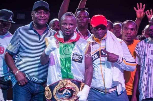 Joseph Agbeko Targets Another World Title