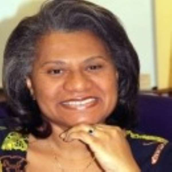 Dr. Julitta Onabanjo, UNFPA Regional Director for East and Southern Africa
