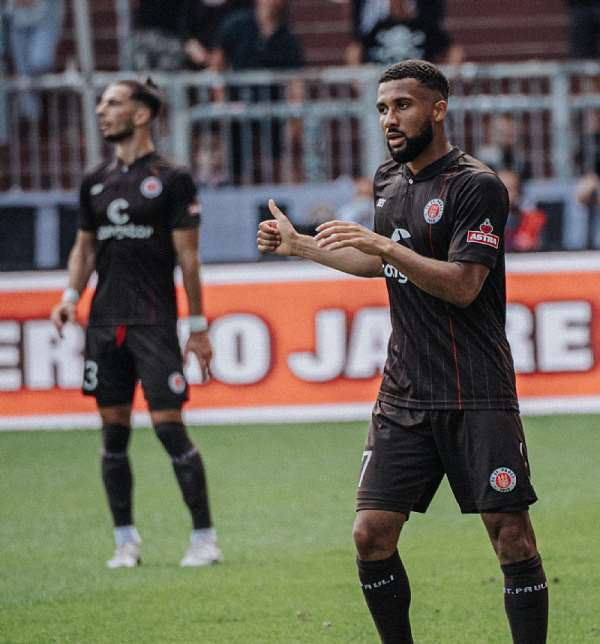Ghanaian attacker Daniel-Kofi Kyereh on target as St. Pauli hammer Holstein Kiel 3-0