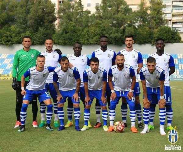 Cobbina, Atinga Mark Debuts For KF Tirana In Pre-Season Win Over KF Apolonia