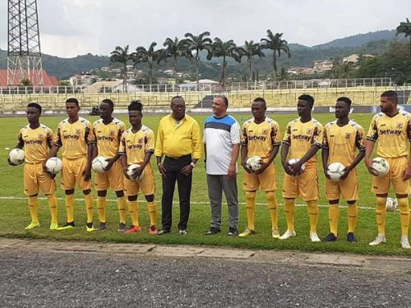 AshantiGold Unveils 11 New Players Ahead Of CAF Confed. Cup Campaign [VIDEO]