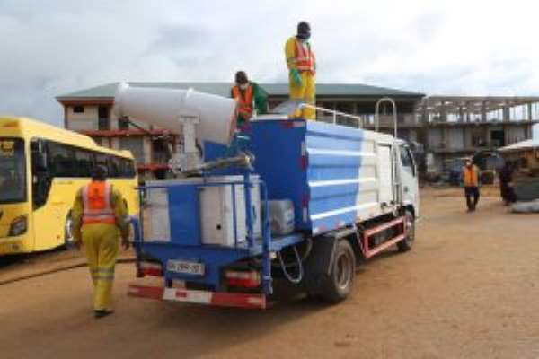 Upper West Markets Disinfected, Fumigated