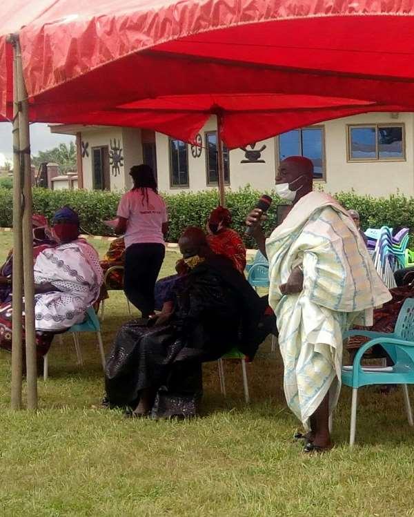 Asantehene Otumfuo Osei Tutu II Shows Readiness To Help Fight COVID-19 In Ahafo Region