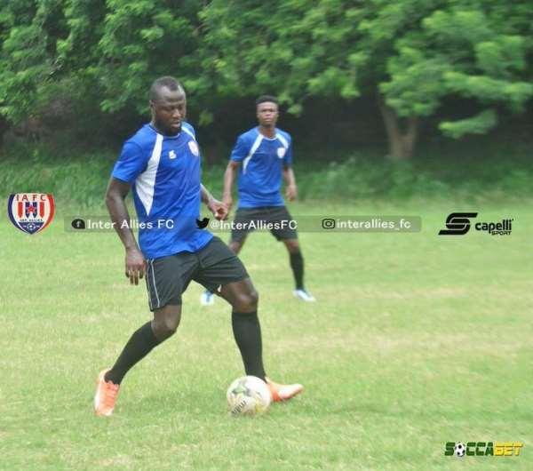 Inter Allies' Prince Appiah To Go Home Next Week In Kumasi