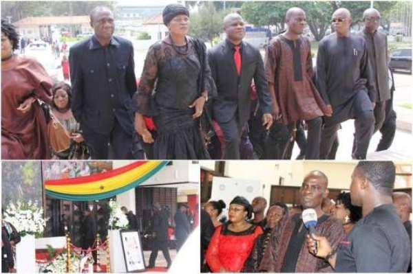 NDC MPs Bid Amissah-Arthur Farewell
