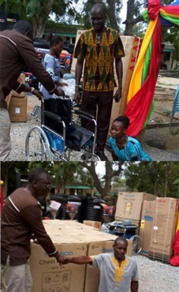 Shama District Assembly Supports PWDs