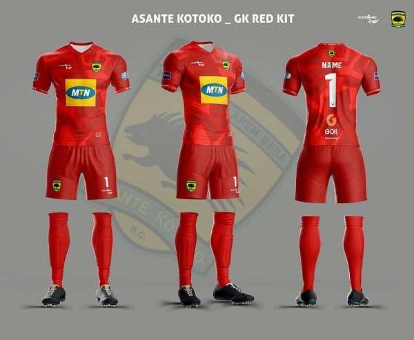 Asante Kotoko Unveils New Home And Away Jerseys [PHOTOS]