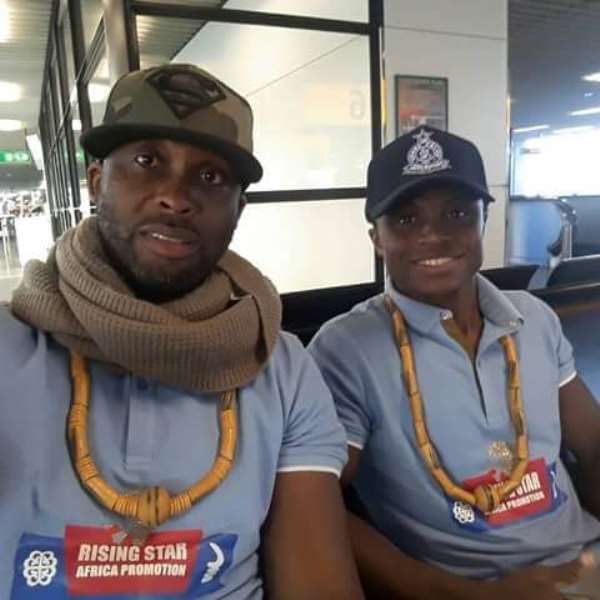 Paul Dogboe Thanks Nana Akufo Addo For Supporting His Son