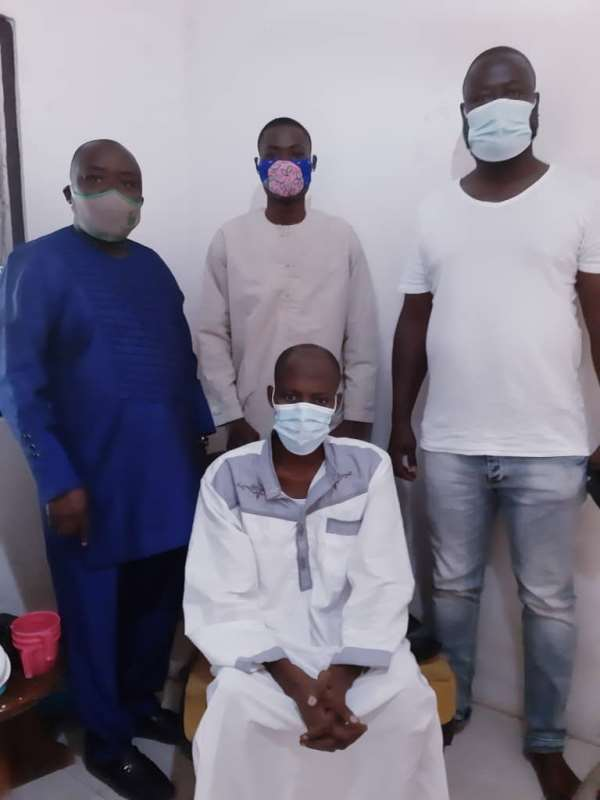 Dr. Mohammed Awal Supports Sick Alhassan Mutaru