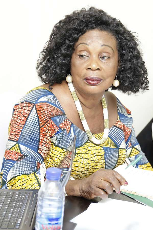Grace Omaboe, popularly known as Maame Dokono
