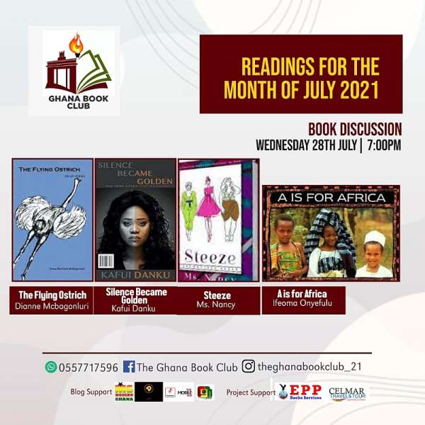 Ghana Book Club Discussion: Kafui Danku and Ms.Nancy emerges July guest authors