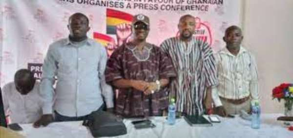 We'll not accept the 4% salary increment — Coalition against TUC